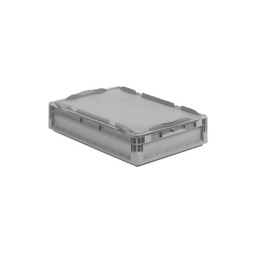 "Looking: 16""L x 12""W x 05""H ELB Lightweight Straight-Wall Container with Lid 