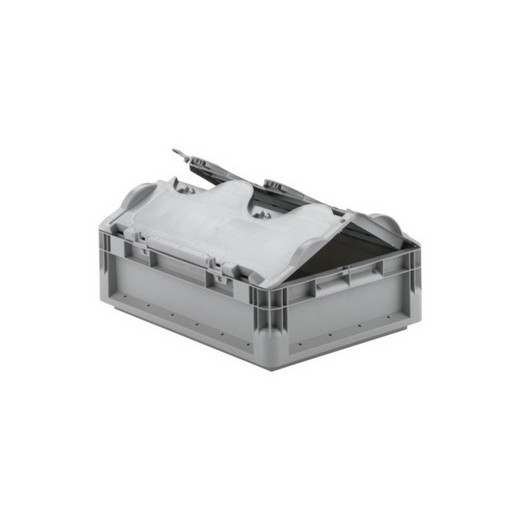 "Looking: 16""L x 12""W x 05""H ELB Lightweight Straight-Wall Container with 2 pieces Hinged Lid 