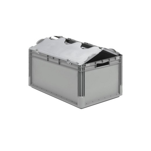 "Looking: 24""L x 16""W x 11""H ELB Lightweight Straight-Wall Container with 2 pieces Hinged Lid 