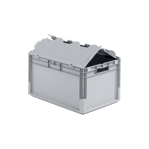 "Looking: 24""L x 16""W x 13""H ELB Lightweight Straight-Wall Container with 2 pieces Hinged Lid 