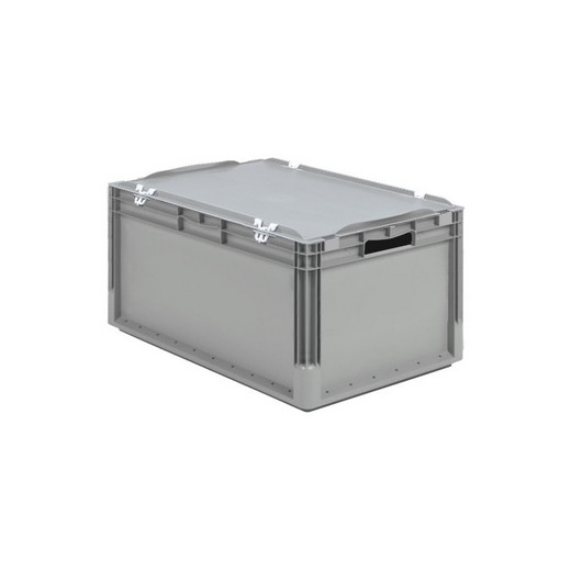 "Looking: 24""L x 16""W x 11""H ELB Lightweight Straight-Wall Container with Hinged Lid with Clips 
