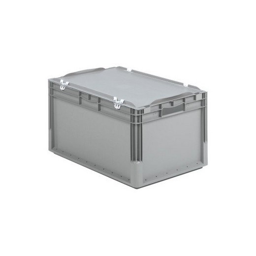 "Looking: 24""L x 16""W x 13""H ELB Lightweight Straight-Wall Container with Hinged Lid with Clips 