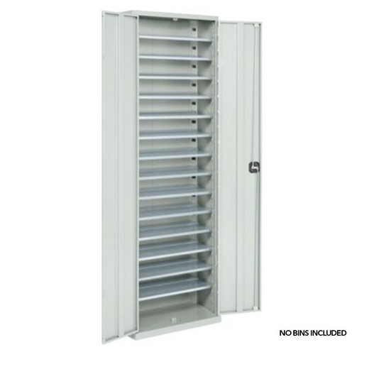 "Looking: 63""H x 27""W x 10""D SaFix™ Bin Cabinets With Doors Bins not included 