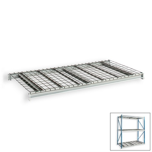 "Looking: 48""W x 48""D Bulk Rack Wire Deck Extra Level 