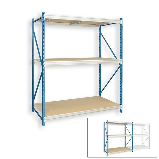 "Looking: 99""H x 96""W x 36""D Bulk Rack Particle Board Starter Shelving 3 Levels 