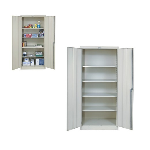 78 H X 36 W 18 D Office Cabinet 4 Shelves Unembled