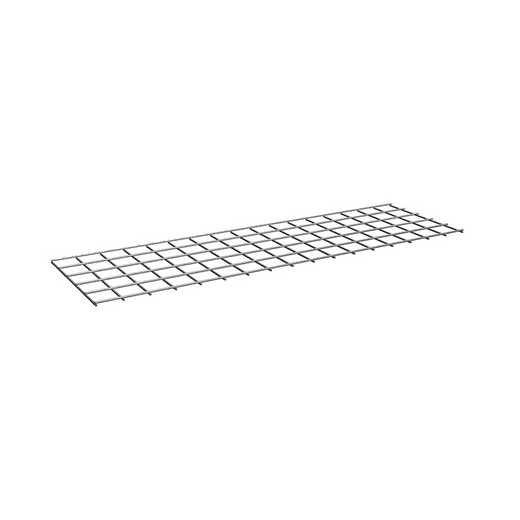 "Looking: 60""W x 30""D Rivet Shelving Wire deck 