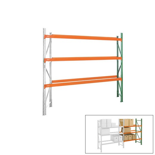 "Looking: 144""H x 108""W x 42""D Pallet Rack Shelving Unit Add-On 