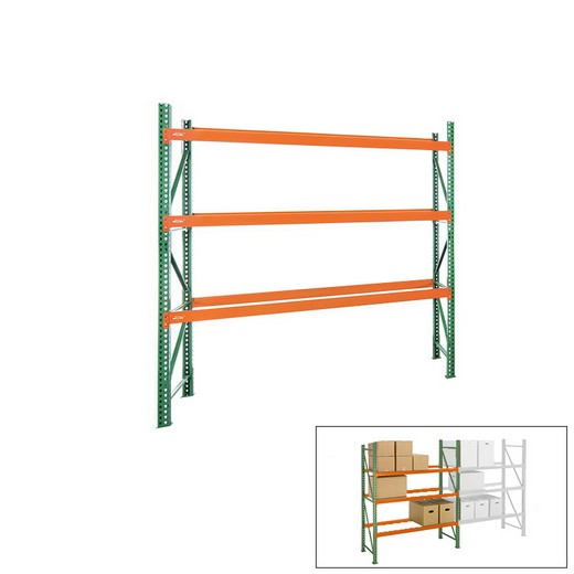 "Looking: 96""H x 108""W x 48""D Pallet Rack Shelving Unit Starter 