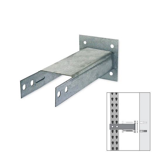 "Looking: 06""D Pallet Rack Accessories Wall Tie 