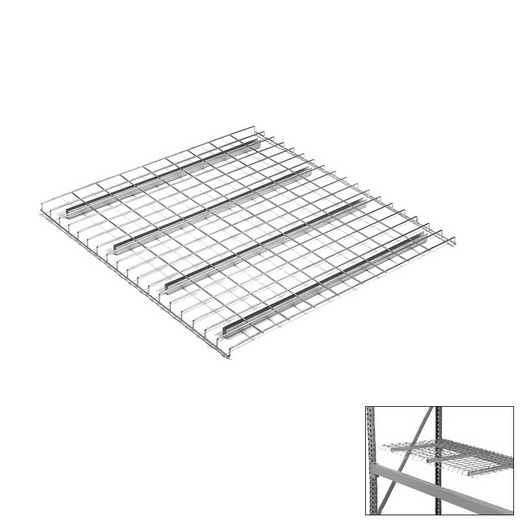 "Looking: 52""W x 42""D Pallet Rack Wire Decking 