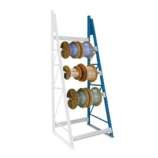 "Looking: 99""H x 36""W x 36""D Reel Shelving Add-On 3 Axes 