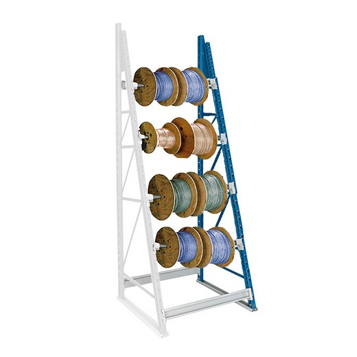 "Looking: 123""H x 36""W x 36""D Reel Shelving Add-On 4 Axes 