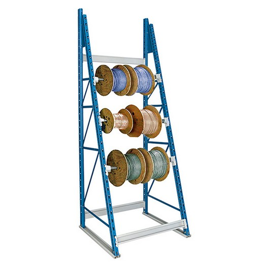 "Looking: 99""H x 48""W x 36""D Reel Shelving Starter 3 Axes 