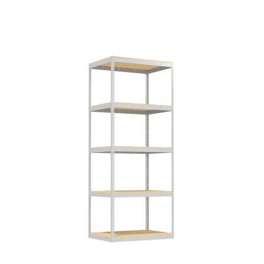"Looking for: Rivet Record Storage Shelving Unit. 5 Particle Board Levels. 108""H x 42""W x 30""D 