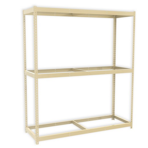 "Looking for: Rivet Premium Shelving Unit. 3 No Deck Levels. 48""H x 48""W x 18""D  
