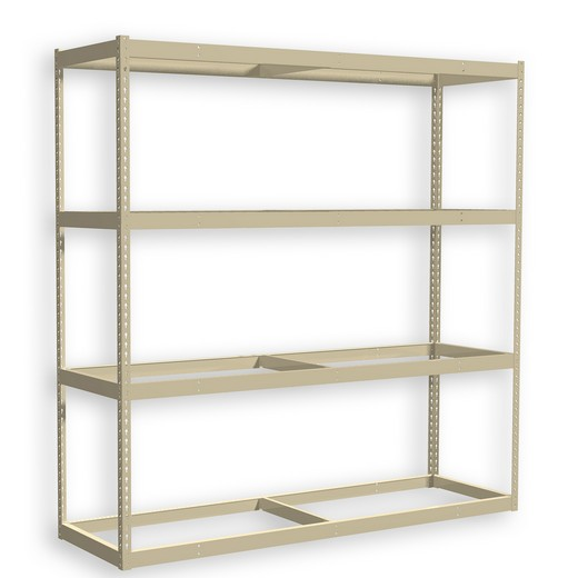 "Looking: 72""H x 48""W x 48""D Premium Rivet Shelving Unit with no Deck 