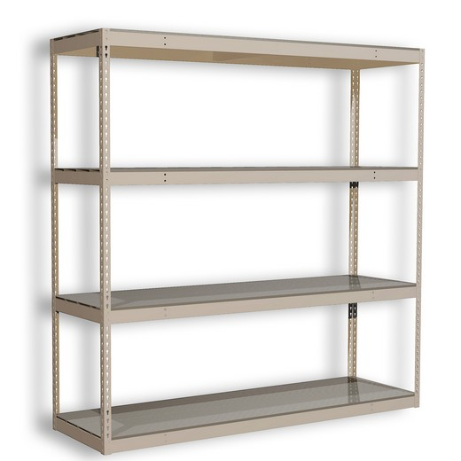 "Looking for: Rivet Premium Shelving Unit. 4 Steel Deck Levels. 72""H x 84""W x 30""D  