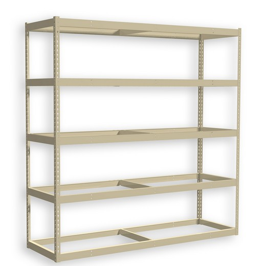 "Looking for: Rivet Premium Shelving Unit. 5 No Deck Levels. 120""H x 96""W x 36""D 