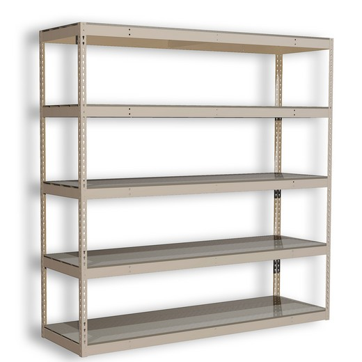 "Looking for: Rivet Premium Shelving Unit. 5 Steel Deck Levels. 108""H x 48""W x 12""D 