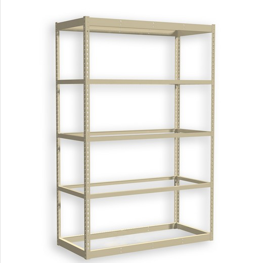 "Looking for: Rivet Standard Shelving Unit. 5 No deck Levels. 72""H x 48""W x 24""D  