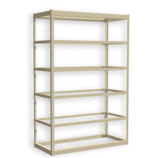 "Looking: 120""H x 36""W x 12""D Standard Rivet Shelving - No Deck 