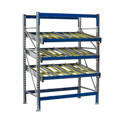 "Looking for: KDR Gravity Flow Rack Shelving Starter Unit. 3 Levels 79""H x 87""W x 123""D 
