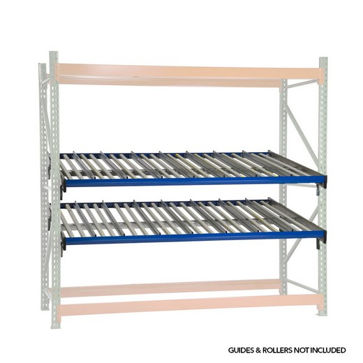 "Looking for: KDR Gravity Flow Rack Level for Pallet Rack 96""W x 52""D  