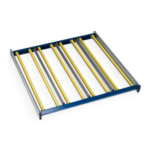 "Looking: 106""W x 123""D KDR Gravity Flow Rack Extra Level 