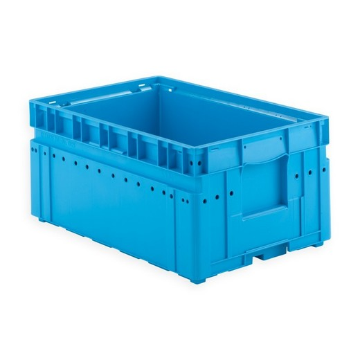 "Looking: 24""L x 16""W x 12""H KLT Shipping Automation Container 