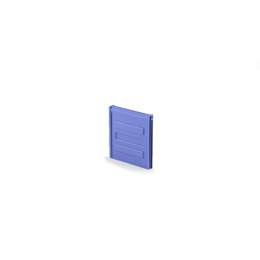 "Looking: 08""W x 08""H  LMB T811 Vertical Storage System Divider Blue 