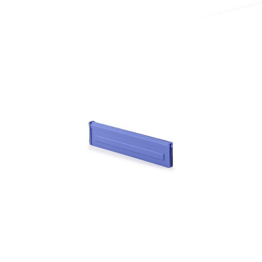 "Looking: 16""W x 04""H  LMB T811 Vertical Storage System Divider Blue 