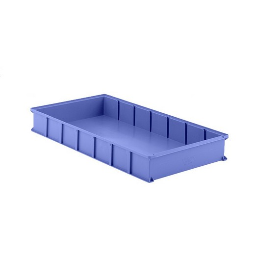 "Looking: 32""L x 16""W x 04""H LMB 841 Vertical Storage System Container Blue 