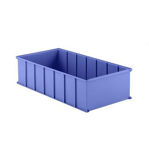 "Looking: 32""L x 16""W x 08""H LMB 842 Vertical Storage System Container Blue 