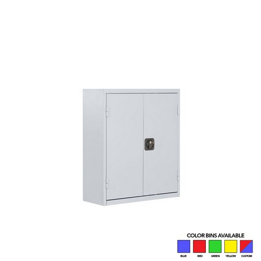 "Looking: 30""H x 27""W x 10""D SaFix™ Bin Cabinets With Doors 6 Shelves 