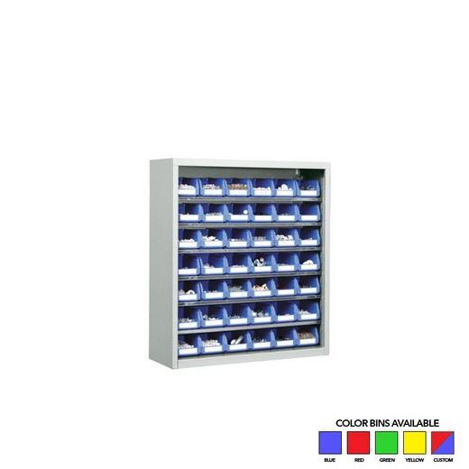 "Looking: 30""H x 27""W x 10""D SaFix™ Bin Cabinets Without Doors 6 Shelves 