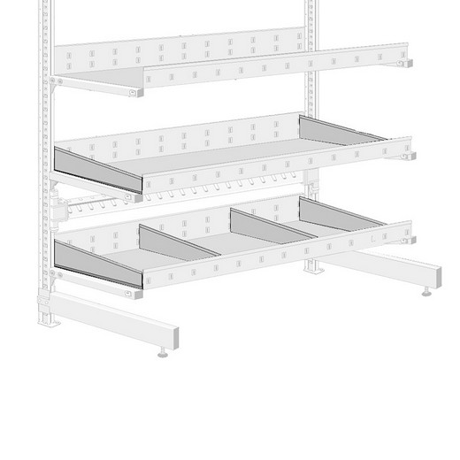 Looking: R3000 Cantilever Tray Divider | By Schaefer USA. Shop Now!