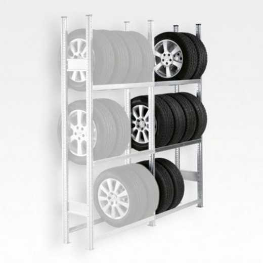 "Looking: 85""H x 79""W x 16""D R3000 Tire Rack Shelving Add-On 3 Shelves 