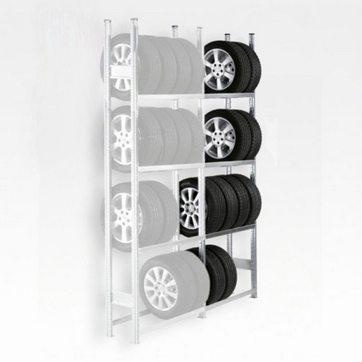 "Looking: 118""H x 79""W x 16""D R3000 Tire Rack Shelving Add-On 4 Shelves 