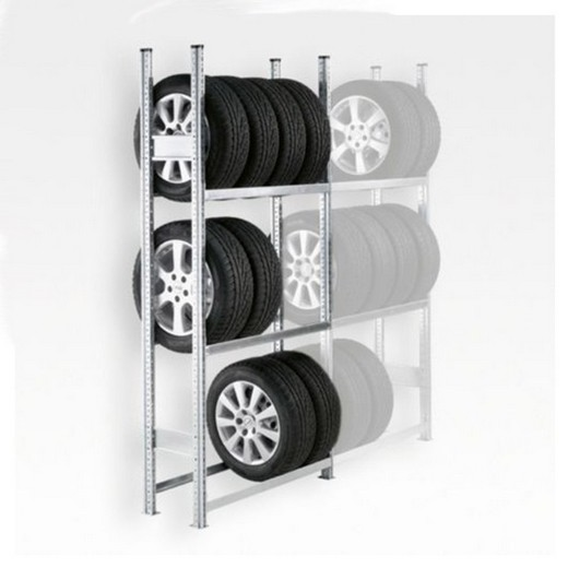 "Looking: 85""H x 50""W x 16""D R3000 Tire Rack Shelving Starter Unit 3 Shelves 