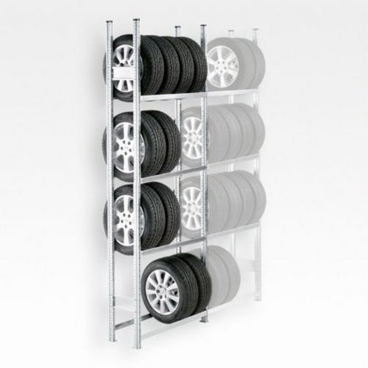 "Looking: 118""H x 50""W x 16""D R3000 Tire Rack Shelving Starter Unit 4 Shelves 