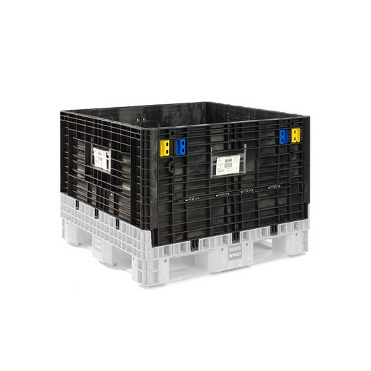 "Looking: 48""L x 45""W x 25""H Collapsible Bulk Containers 2 Doors 