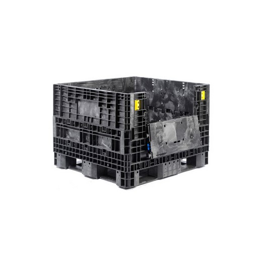 "Looking: 48""L x 45""W x 34""H Collapsible Bulk Containers 2 Doors 