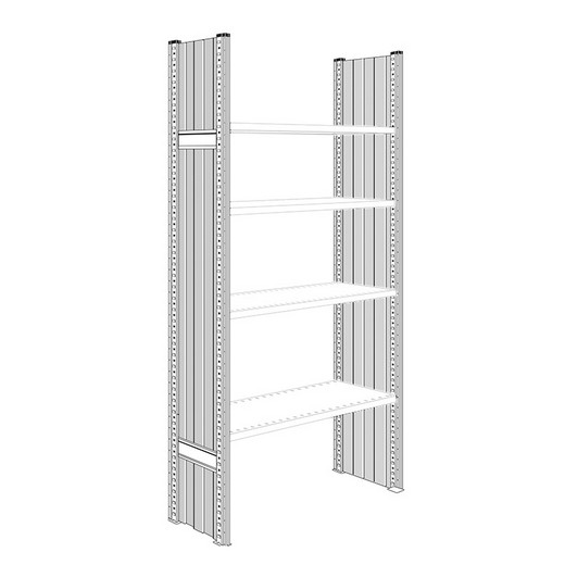 "Looking: 85""H x 16""D R3000 Shelving Solid Side Panels 