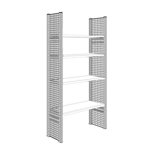 "Looking: 85""H x 16""D R3000 Shelving Wire Mesh Side Panels 