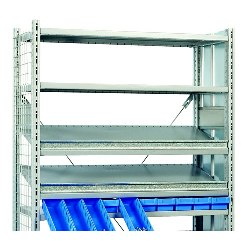 "Looking: 13.5""H x 50""W Bin Fronts for R3000 Industrial Shelving 