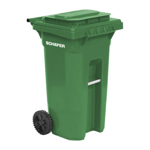 "Looking: 22""L x 23""W x 28""H USD Rollout Waste and Recycling Cart 35 Gallons Serie B 