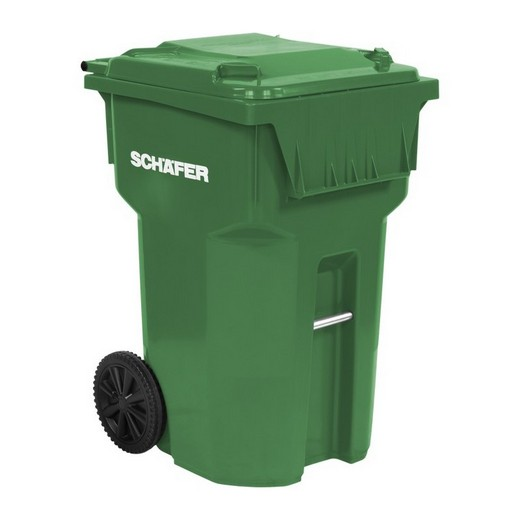 "Looking: 32""L x 28""W x 44""H USD Rollout Waste and Recycling Cart 95 Gallons Serie B 