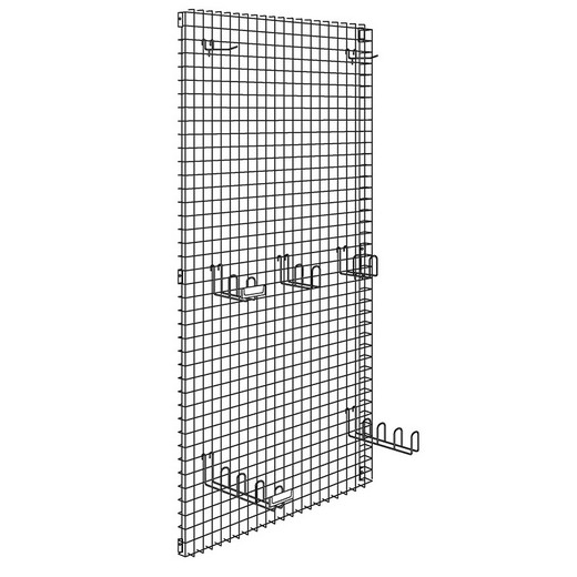 "Looking: 81""H x 42""W R3000 Industrial Shelving Wire Wall Panel Ornamental Parts Mesh 